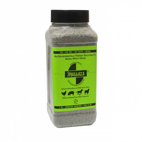 SMELLEZE Natural Poop Smell Removal Deodorizer: 2 lb. Granules Rid Fecal Stink