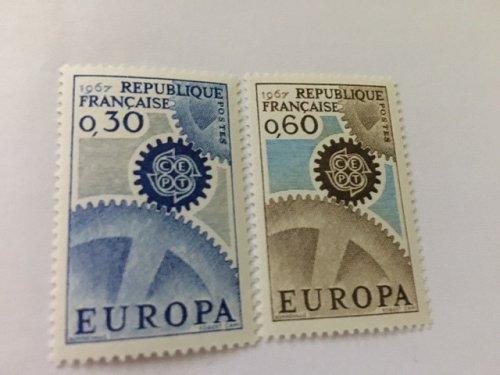 France Europa mnh 1967