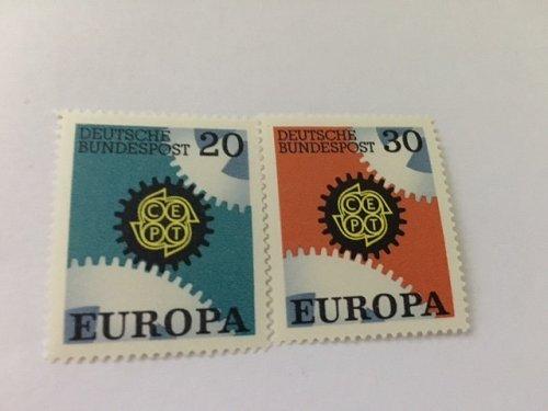 Germany Europa 1967 mnh