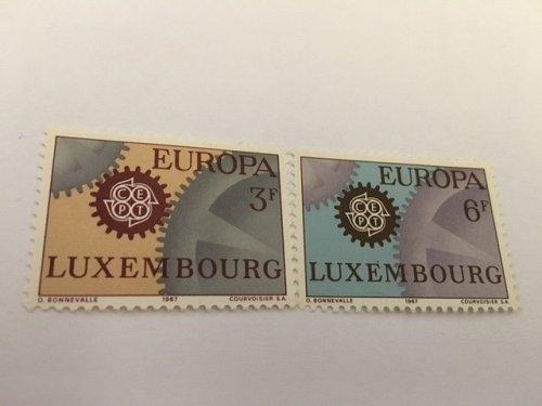 Luxembourg Europa 1967 mnh