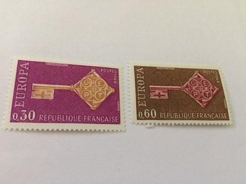 France Europa 1968 mnh