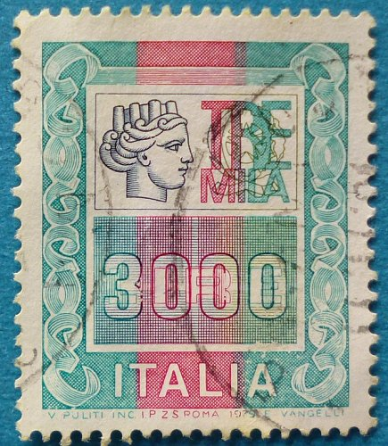 Stamp Italy 1979 Definitives 3000 Lire
