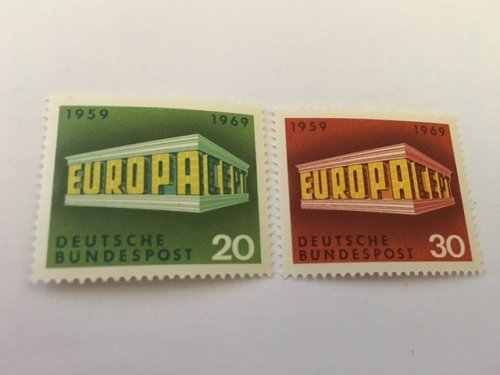 Germany Europa 1969 mnh #1