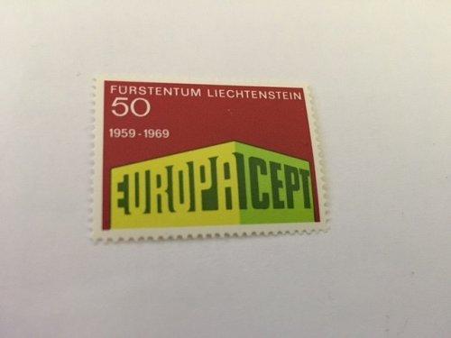 Liechtenstein Europa 1969 mnh