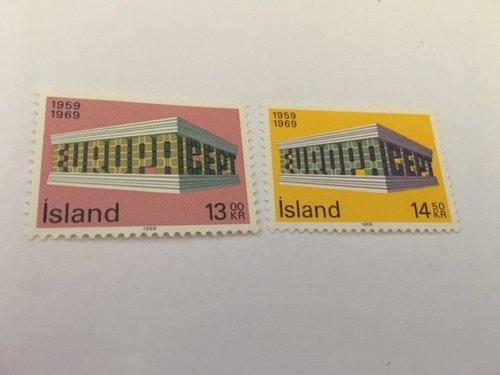 Iceland Europa 1969 mnh
