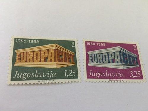 Jugoslavia Europa 1969 mnh