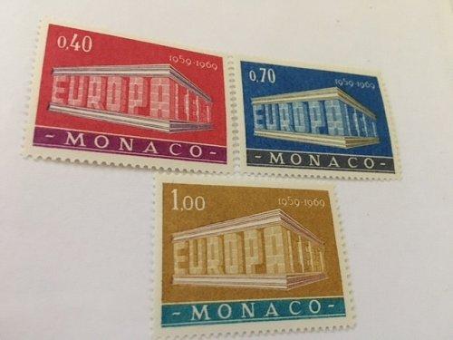 Monaco Europa 1969 mnh