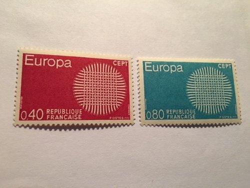 France Europa 1970 mnh