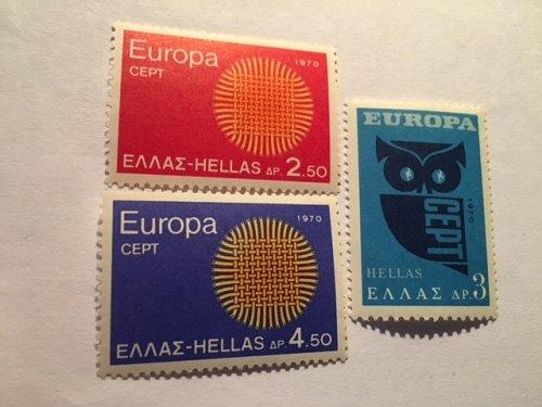 Greece Europa 1970 mnh