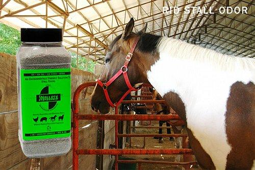 SMELLEZE Natural Horse Smell Removal Deodorizer: 2 lb. Granules Gets Odor Out