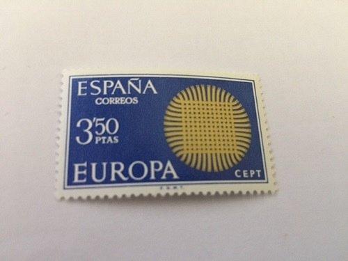 Spain Europa 1970 mnh
