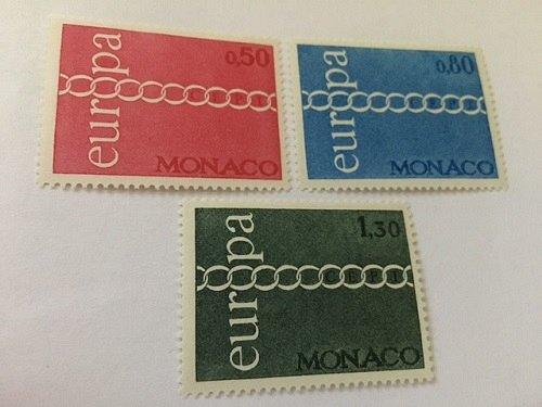 Monaco Europa 1971 mnh