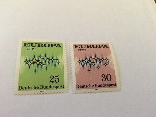 Germany Europa 1972 mnh