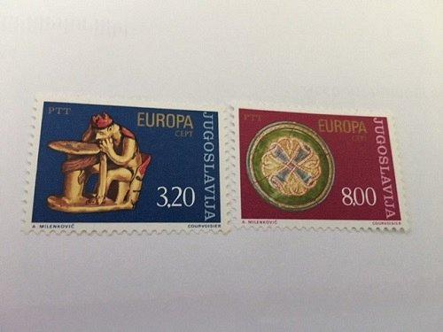 Yugoslavia Europa 1976 mnh