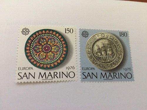 San Marino Europa 1976 mnh