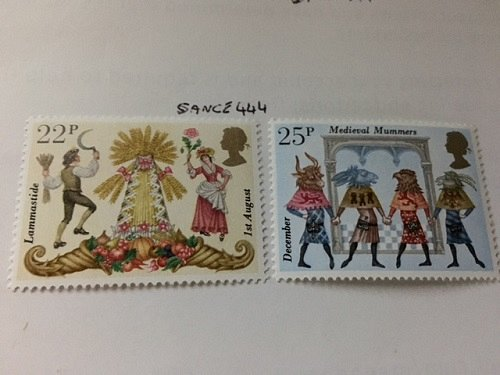 Great Britain Folklore mnh 1981