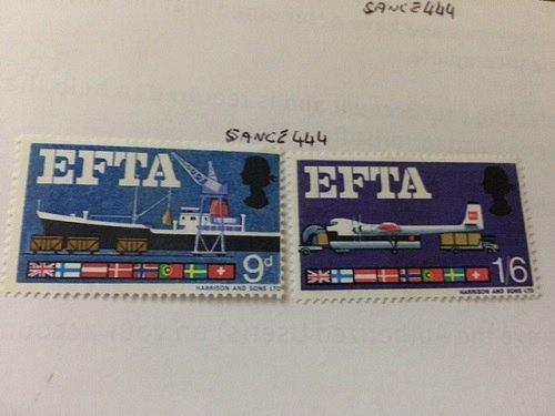 Great Britain EFTA mnh 1967