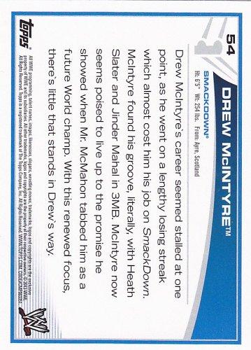 Drew McIntyre #54 - WWE 2013 Topps Wrestling Trading Card