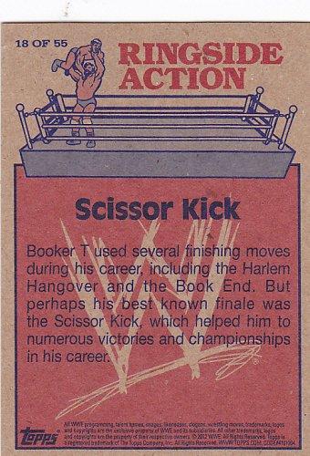 Scissor Kick - WWE 2012 Topps Heritage Wrestling Trading Card #18