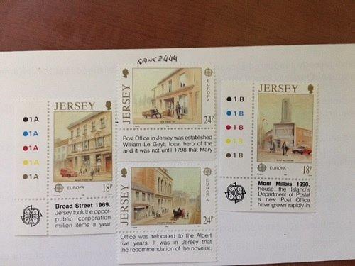 Jersey Europa 1990 mnh