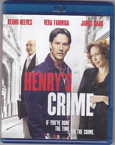 Henry's Crime Blu-ray Disc 2011 - Like New