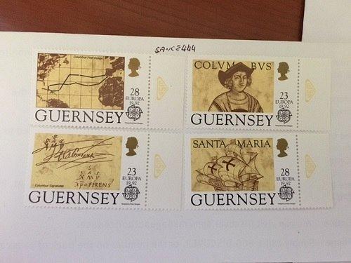 Guernsey Europa 1992 mnh