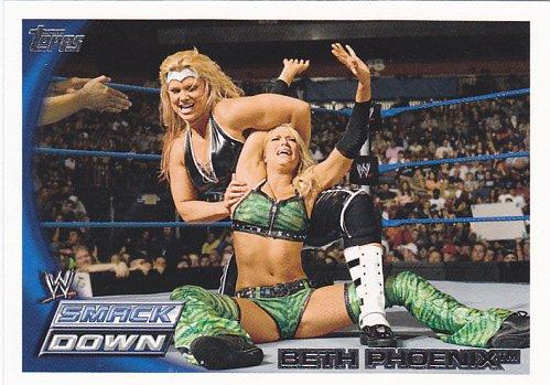 Beth Phoenix #15 - WWE 2010 Topps Wrestling Divas Trading Card