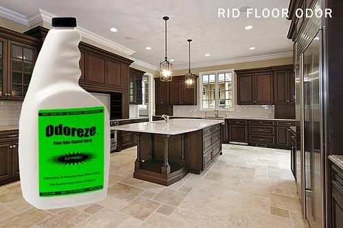 ODOREZE Natural Floor Odor Eliminator & Cleaner: Makes 64 Gallons Deodorizer