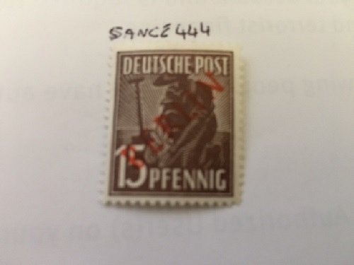 Germany Berlin Red Overp. 15p mnh 1949