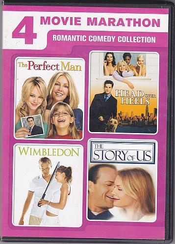 4 Movie Marathon - Romantic Comedy Collection DVD - Very Good