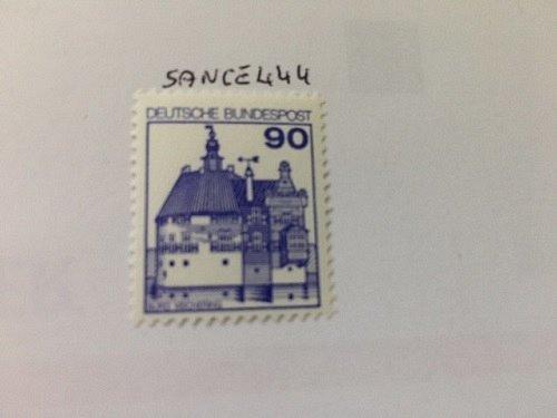 Germany Castle 90p mnh 1978