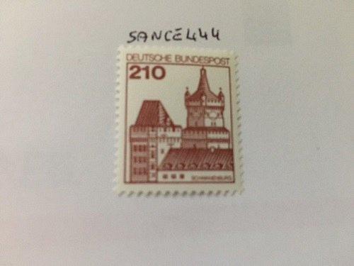 Germany Castle 210p mnh 1978