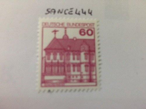 Germany Castle 60p mnh 1979 #1