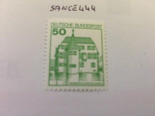 Germany Castle 50p mnh 1980 #1