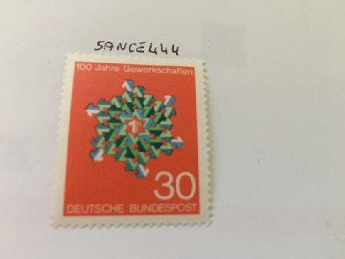 Germany Trade Unions mnh 1968