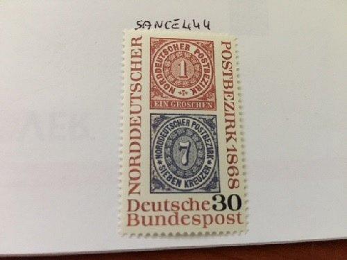 Germany Stamp Centennary mnh 1968