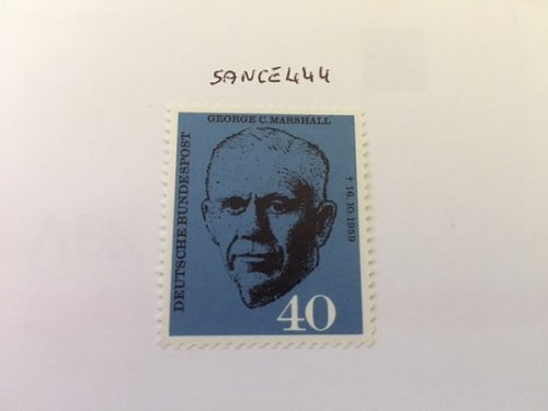 Germany George C. Marshall mnh 1960
