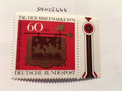 Germany Post House Stamp Day mnh 1979