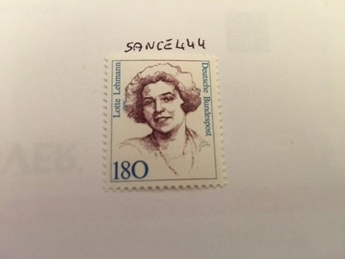 Germany Women 180p mnh 1989