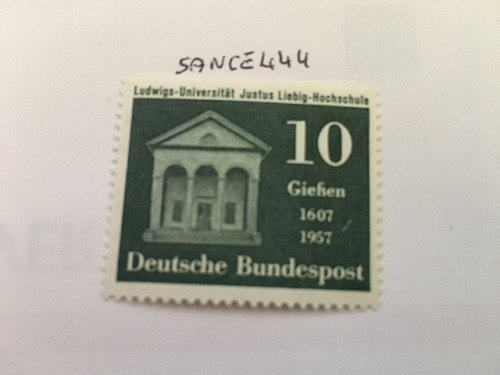 Germany University mnh 1957