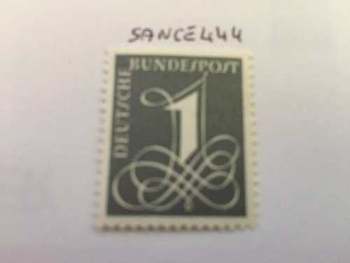Germany Definitive numeral mnh 1955