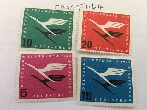 Germany Lufthansa mnh 1955