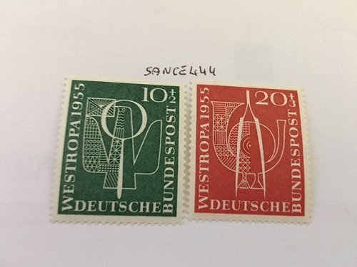 Germany Westropa Stamp Exhibition mnh 1955