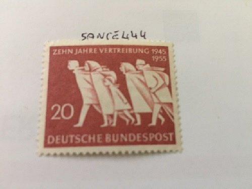Germany Compulsory Fugitive mnh 1955