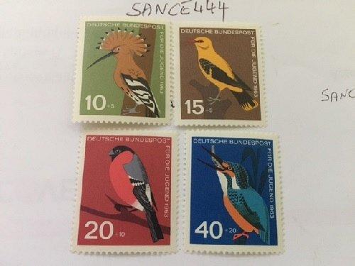 Germany Birds mnh 1963