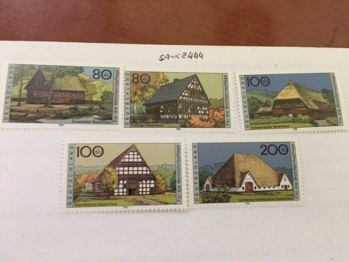Germany Farm houses mnh 1996