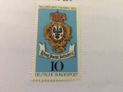 Germany The day of stamps mnh 1975