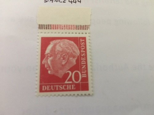 Germany Dr. Th. Heuss 20p mnh 1954