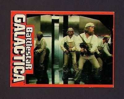 Vintage 1978 Wonder Bread Battlestar Galactica #10 Trading Card EX