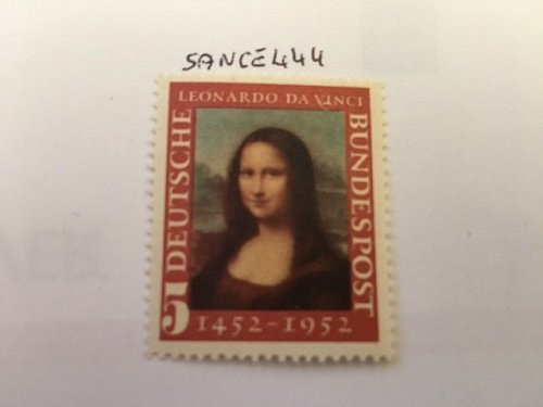 Germany Mona Lisa Da Vinci mnh 1952